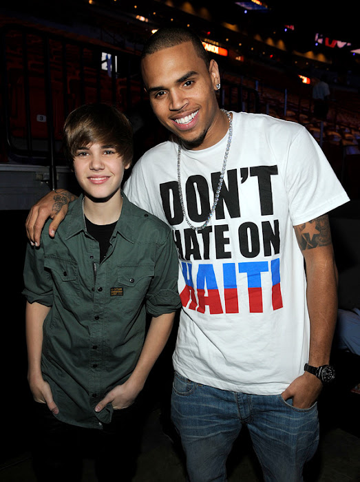 Justin Bieber hints at Chris Brown collaboration
