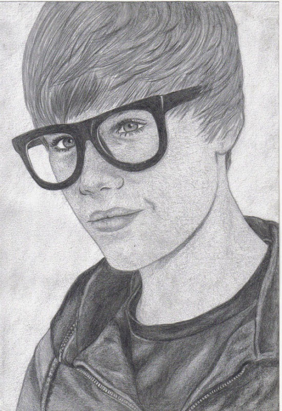 Awesome Justin Bieber Drawing