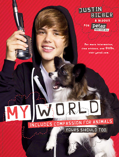 Justin Bieber's dog latest Peta ad
