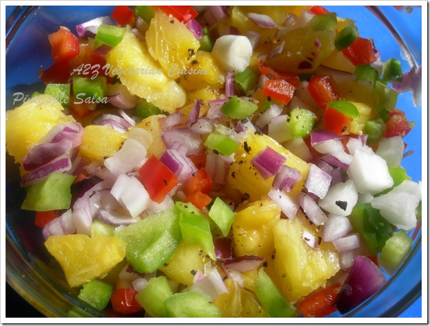 Pineapplesalsa