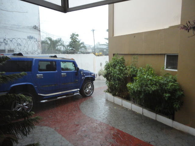 Rain and Hammer :)