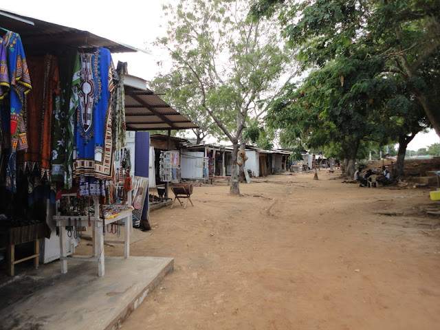 Street markets are commonplace in Ghana
