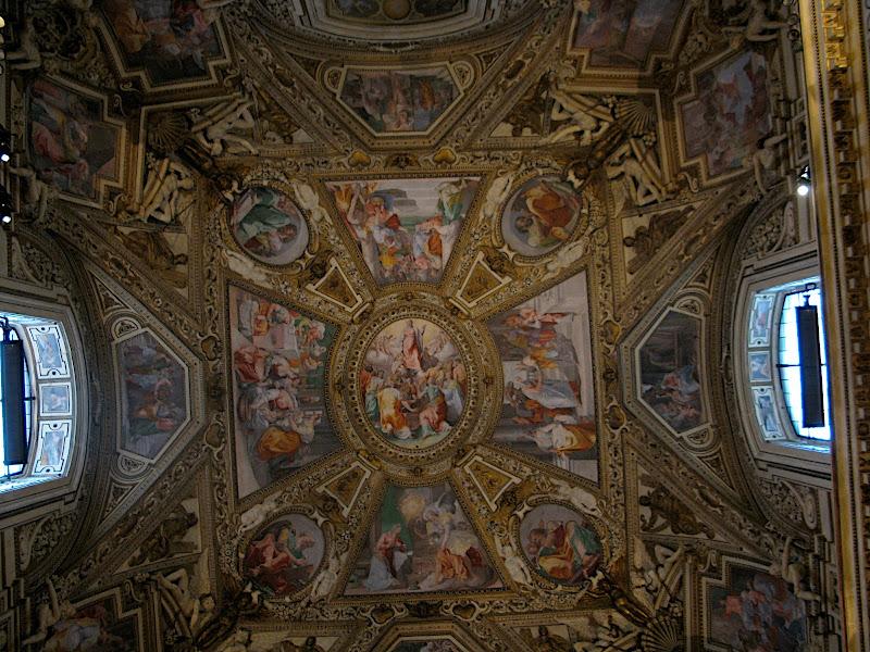Interior de Santa Maria in Trastevere (III)
