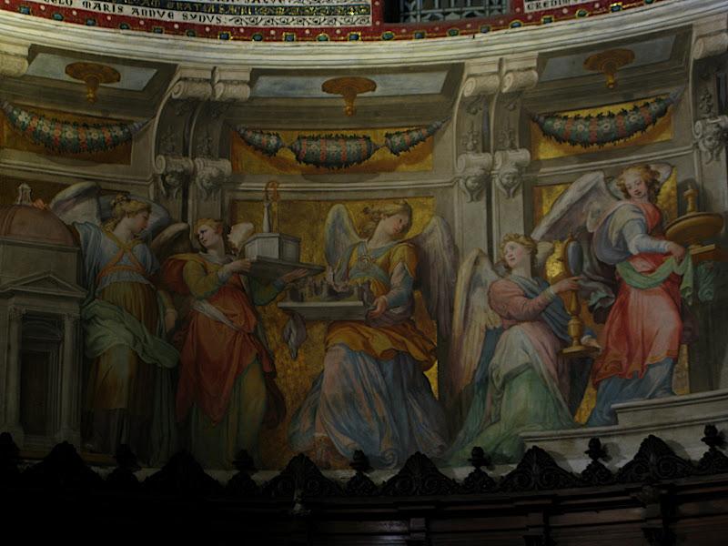 Interior de Santa Maria in Trastevere (VI)
