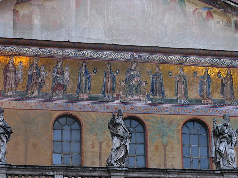 Façana de Santa Maria in Trastevere