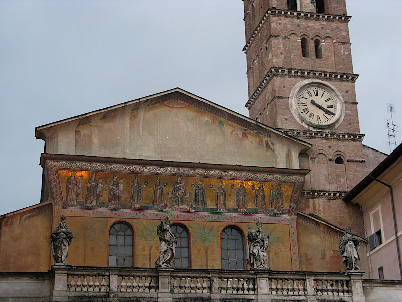 Façana de Santa Maria in Trastevere (II)