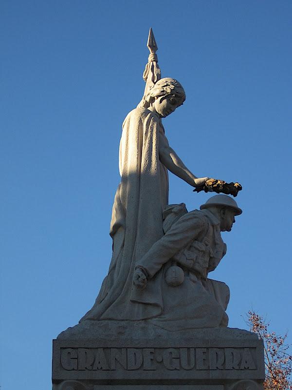 Lisboa: Monument als caiguts a la Gran Guerra