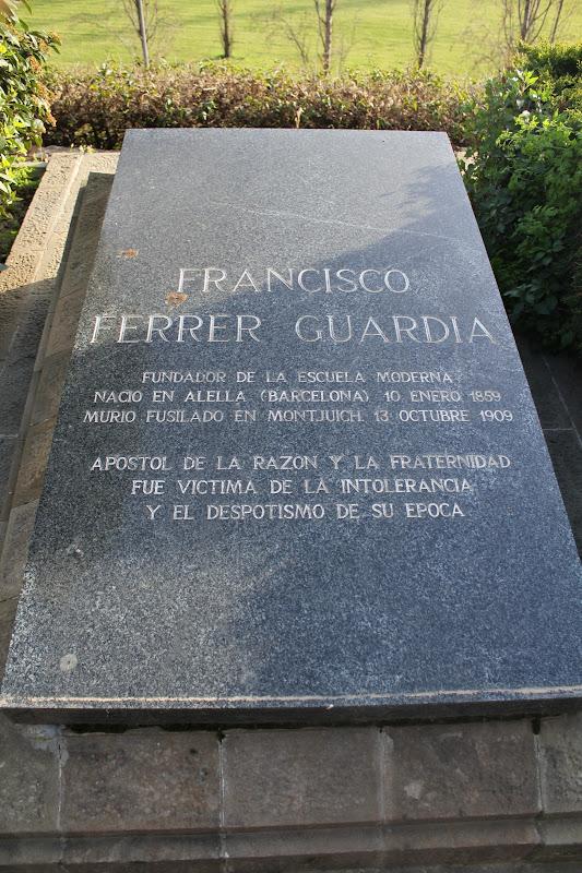 Tomba de Ferrer I Guàrdia
