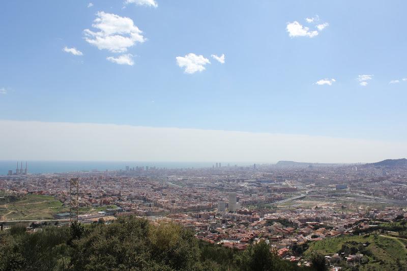Barcelona des del Puig Castellar II