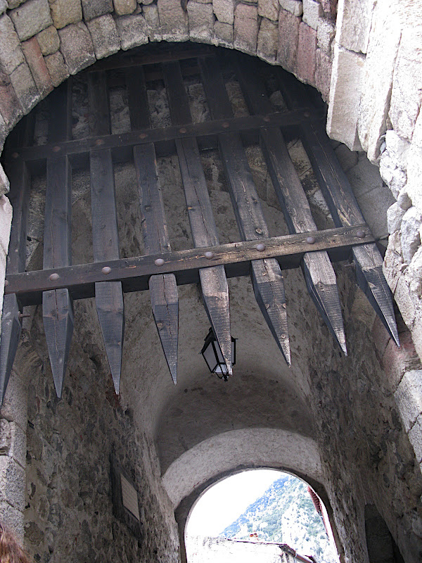 Porta de defensa