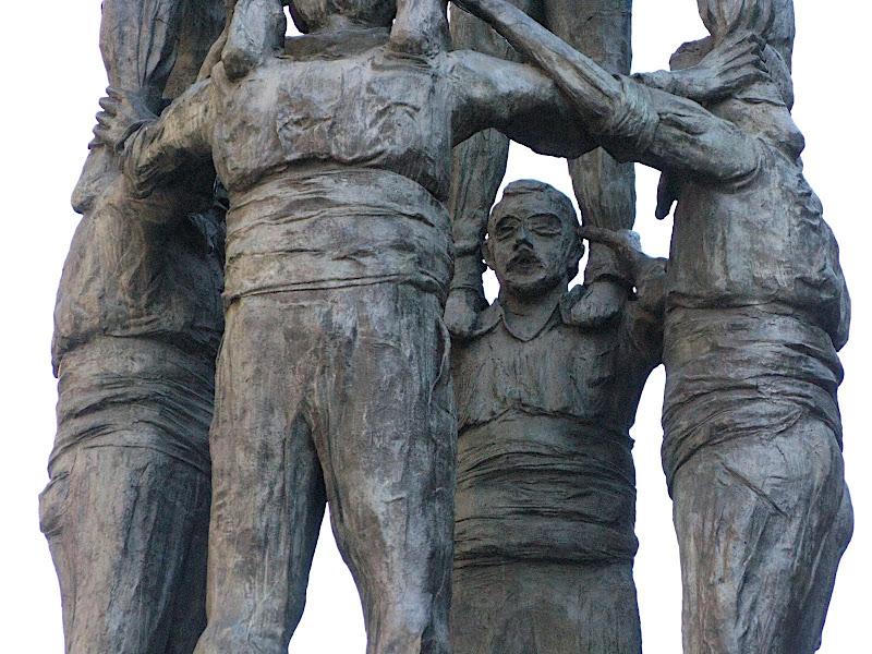 Monument als Castellers, Tarragona (XVI)