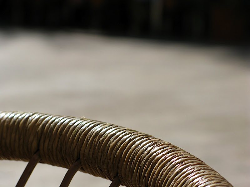 Detall de cadira