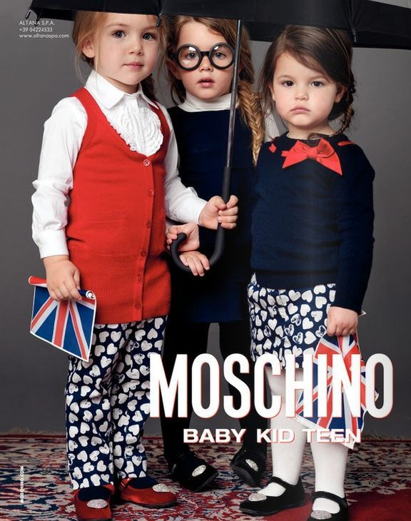 Moschino Baby Kid Teen, lookbook otoo invierno 2010