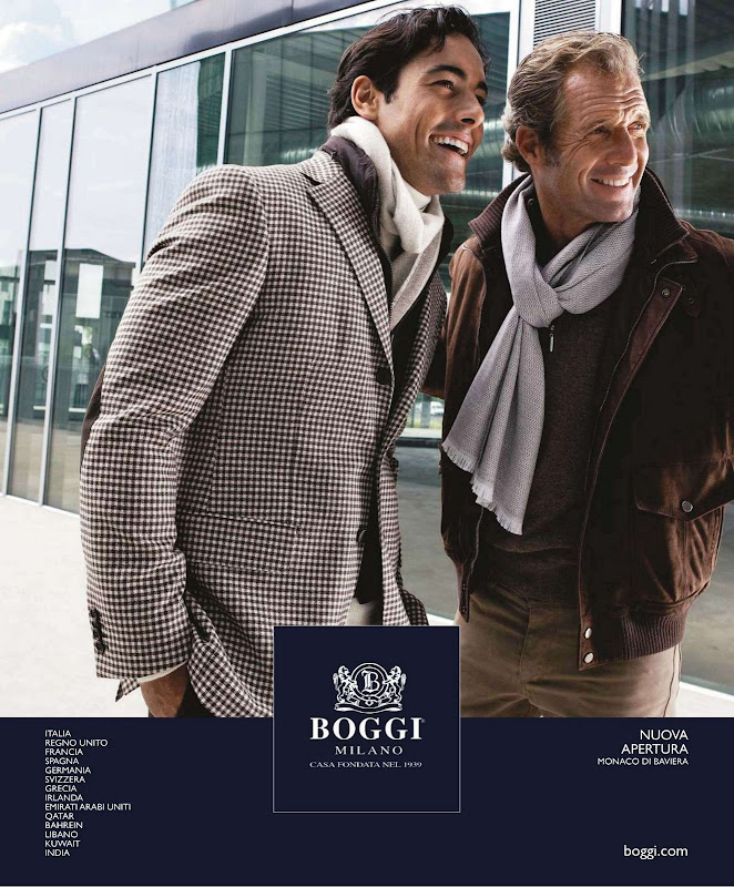 Boggi, lookbook oto&ntilde;o invierno 2010