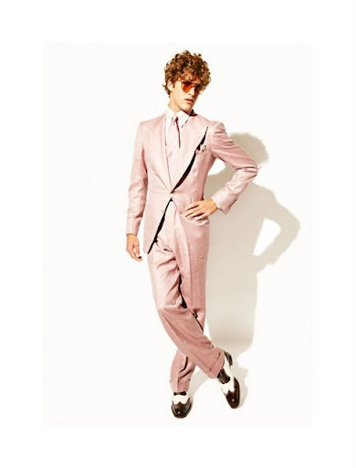 Tom Ford, lookbook menswear Fiestal Primavera Verano 2010