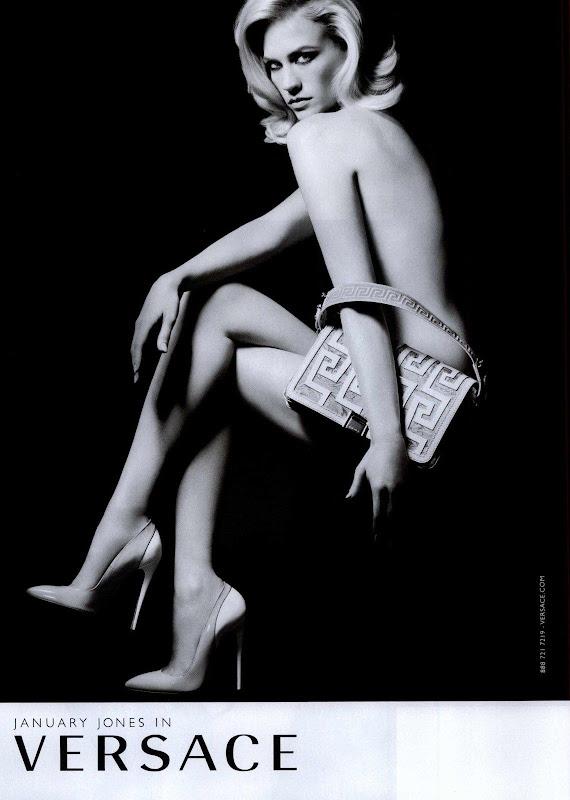 Versace Accessories, campaña Bolsos primavera verano 2011