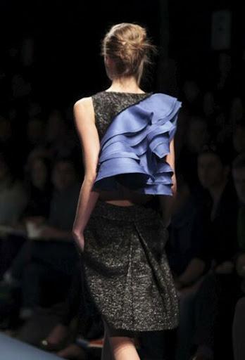 Albino,colección otoño invierno 2011 (Milan Donna Fashion Week)