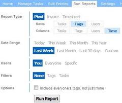 SlimTimer_Run Reports 01