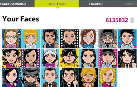 FaceYourManga_Other Faces