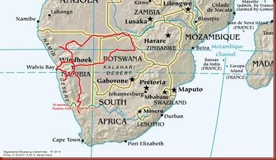13 namibia
