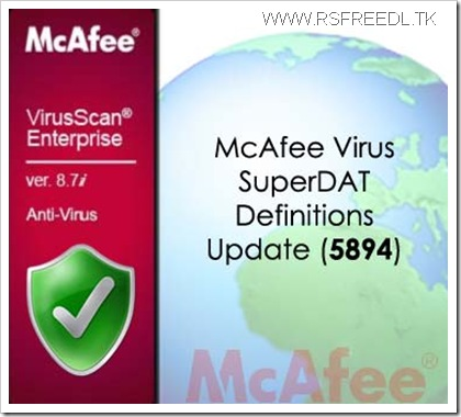 McAfee-Virus-SuperDAT-Definitions-Update-5894-www.freedownload.ir