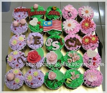 PenangCakes_Evadis_Cupcakes-Flower_Theme_Merdeka