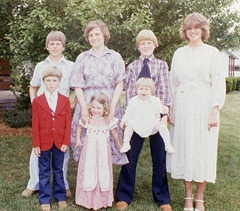 Our  Family 1970's