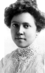 Pauline Udall about 1909