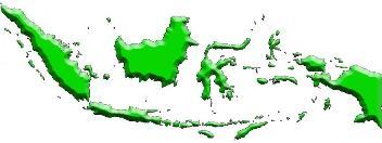 Daftar titik koordinat peta kota / tempat Indonesia. ZonaAero