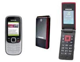 Samsung E2510 vs Nokia 2330 Classic
