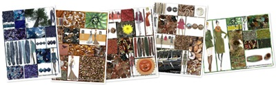 View The B ead Stylist Fall  Winter  Fashion Color Collages