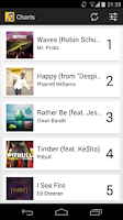 Screenshot of Music Charts