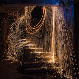 by Jo Darlington - Abstract Light Painting