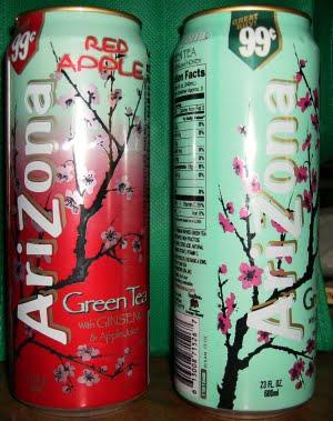 Green Tea Cans
