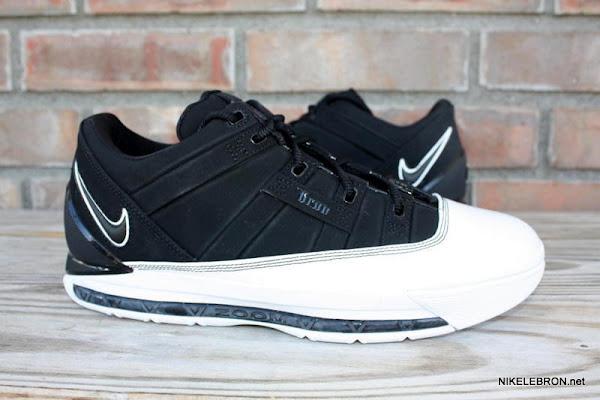 Rare Nike Zoom LeBron III Low 8211 White amp Black Dunkman PE