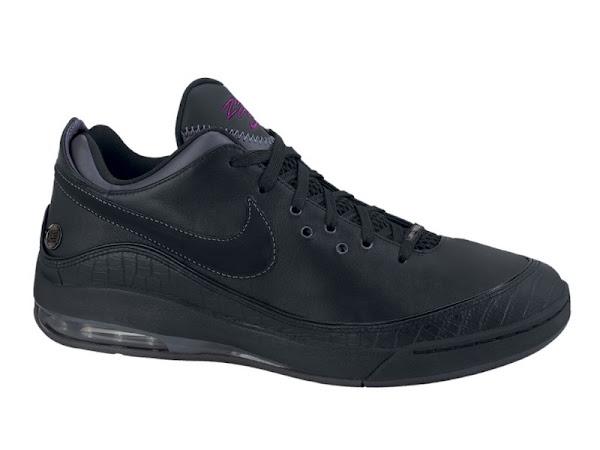 New Nike LeBron VII Lows 8211 BlackPlum amp WhiteGreyOrange