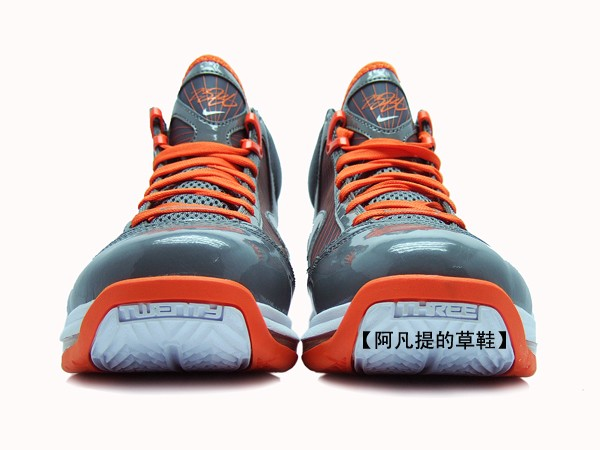 Another Look at the Max LeBron VII 393320003 in GreyOrange