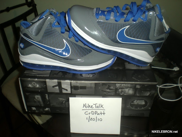 Preview of the Cool GreyVarsity RoyalWhite Air Max LeBron VII
