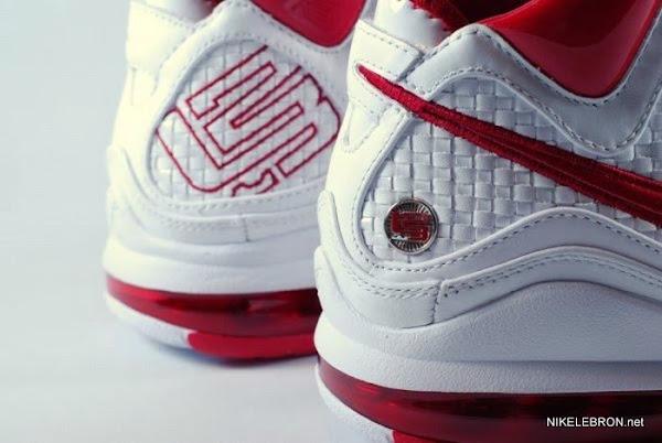 Nike Air Max LeBron VII 383578161 WhiteVarsity Red