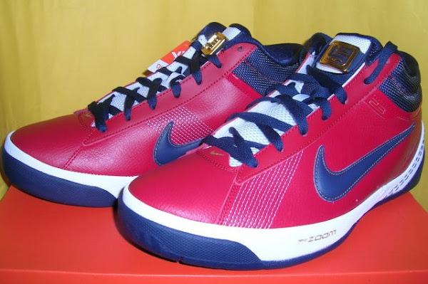 Nike Zoom LBJ Ambassador II Varsity RedMidnight NavyWhite