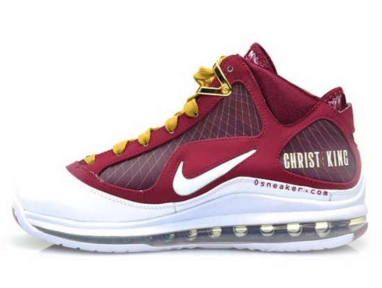 Upcoming Nike Air Max LeBron VII 8220Christ The King8221 Away Edition