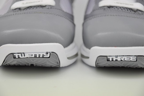 Releasing Now Nike Air Max LeBron VII 8211 Cool Grey  White