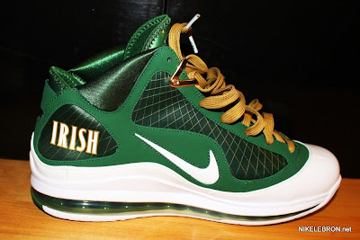 nike air max lebron 7 pe svsm away 2 05 Air Max LeBron VII (7) SVSM Away Player Exclusive Showcase