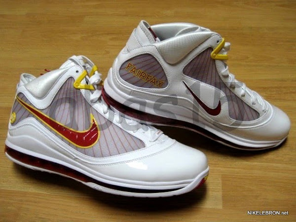 Leaked Nike Air Max LeBron VII Fairfax Home Player Exclusive
