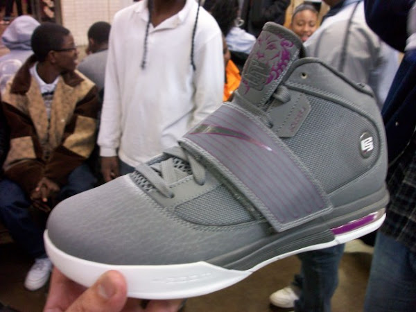 Leaked Nike Zoom Soldier IV 8211 Grey and Purple 8211 Sample Version