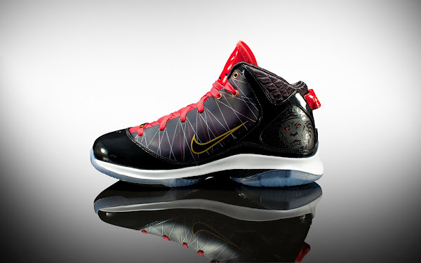 Releasing Now Nike LeBron VII PS BlackWhiteSport Red