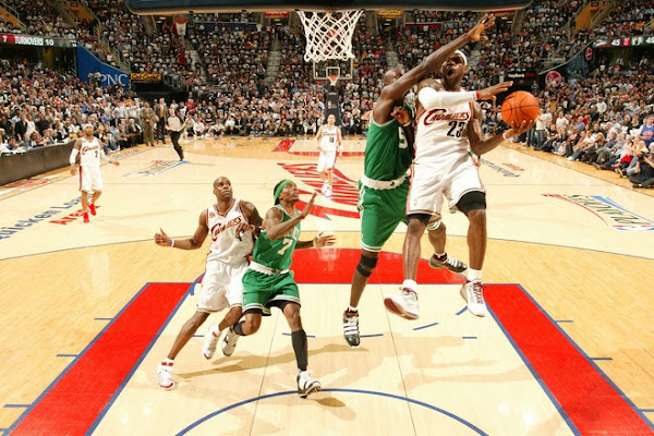 Celtics Steal Homecourt from Cavs and Spoil LeBron8217s MVP Party