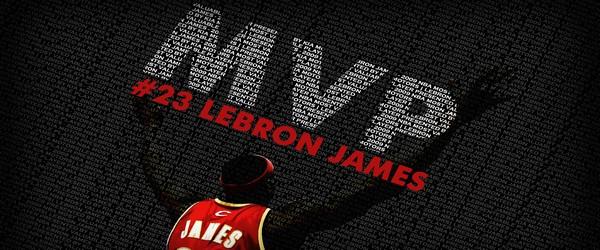LeBron James Wins 200910 NBA Most Valuable Player Award