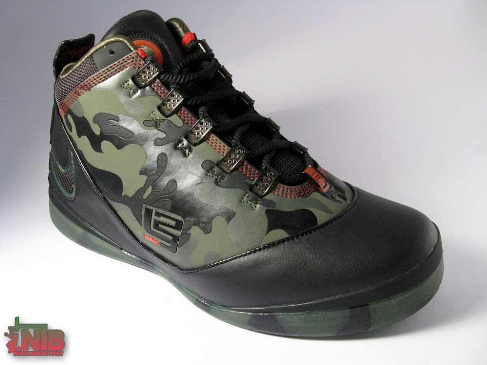 Army Olive/BlackFireFire  Another Exclusive NOT LeBron Zoom Soldier II  Hits NikeStoreCom