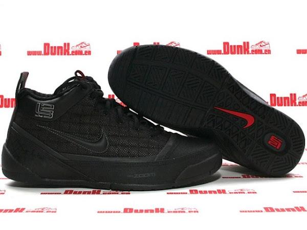 BlackAnthracite Nike Zoom LBJ Ambassador Actual Photos